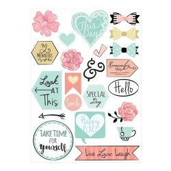 661529 Sizzix Stickers - Planner Page Icons by Katelyn Lizardi